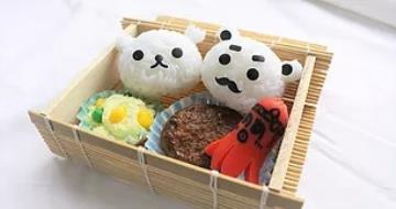 (FOOD REPLICA) Bento lunch box making experience