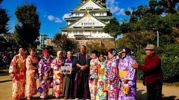 武士与忍者体验 大阪城特别计划